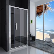 Crown 1100mm Sliding Shower Door